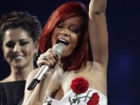 Rihanna at the Brit Awards 2011