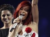 Rihanna at the Brit Awards 2011