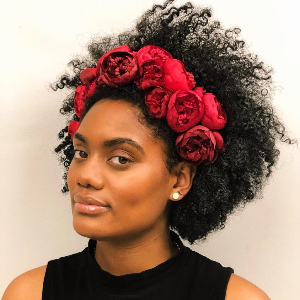 Mina Silk Flower Crown
