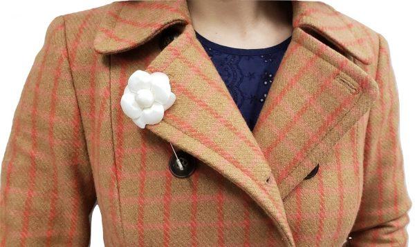 Camellia Brooch Pin