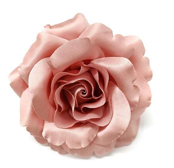 pink satin rose