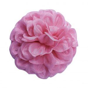 pink dahlia flower pin